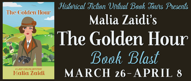 The Golden Hour Malia Zaidi Book Blast