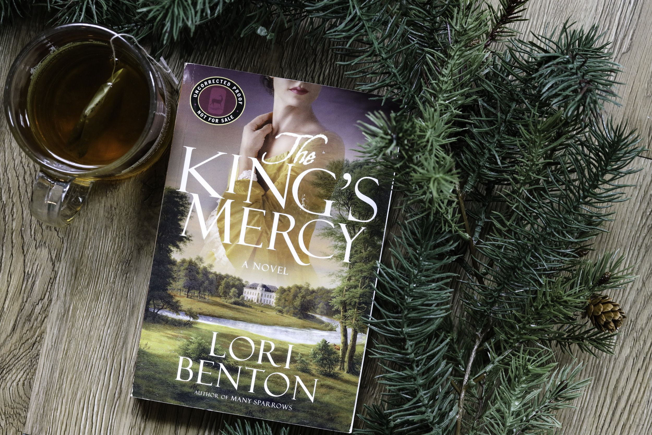 the kings mercy lori benton book review