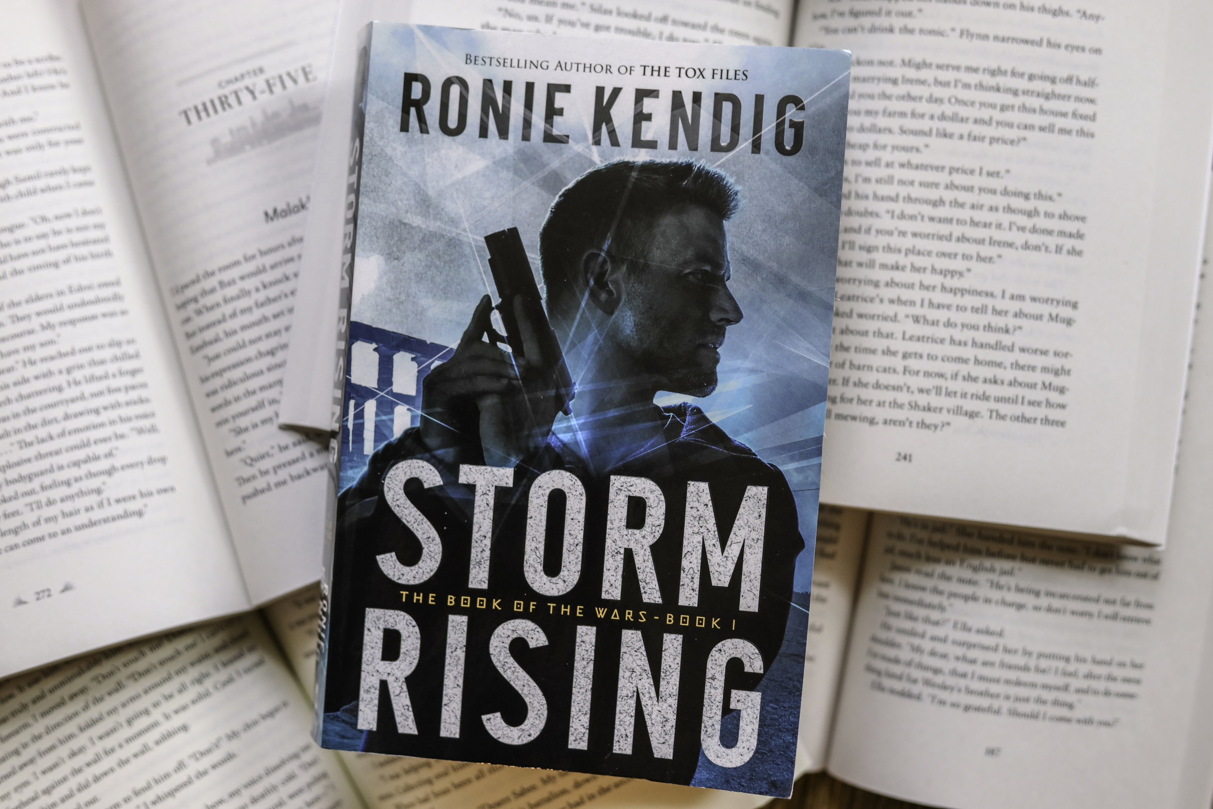 storm rising Roniie Kendig book review