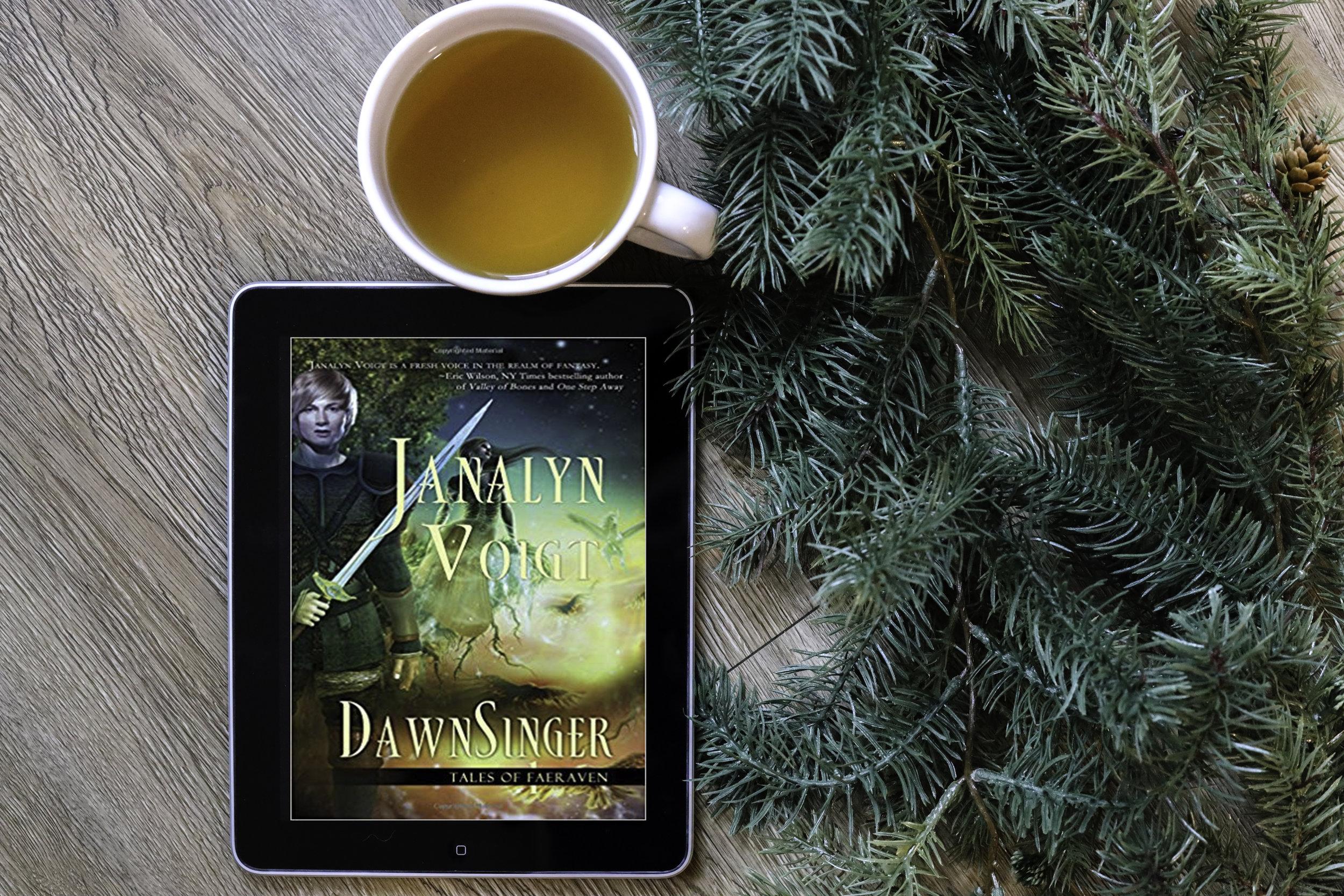 Book Review Dawnsinger Janalyn Voigt