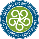 Our supplier has received the Platinum Level Seal of Approval from the Carpet and Rug Institute