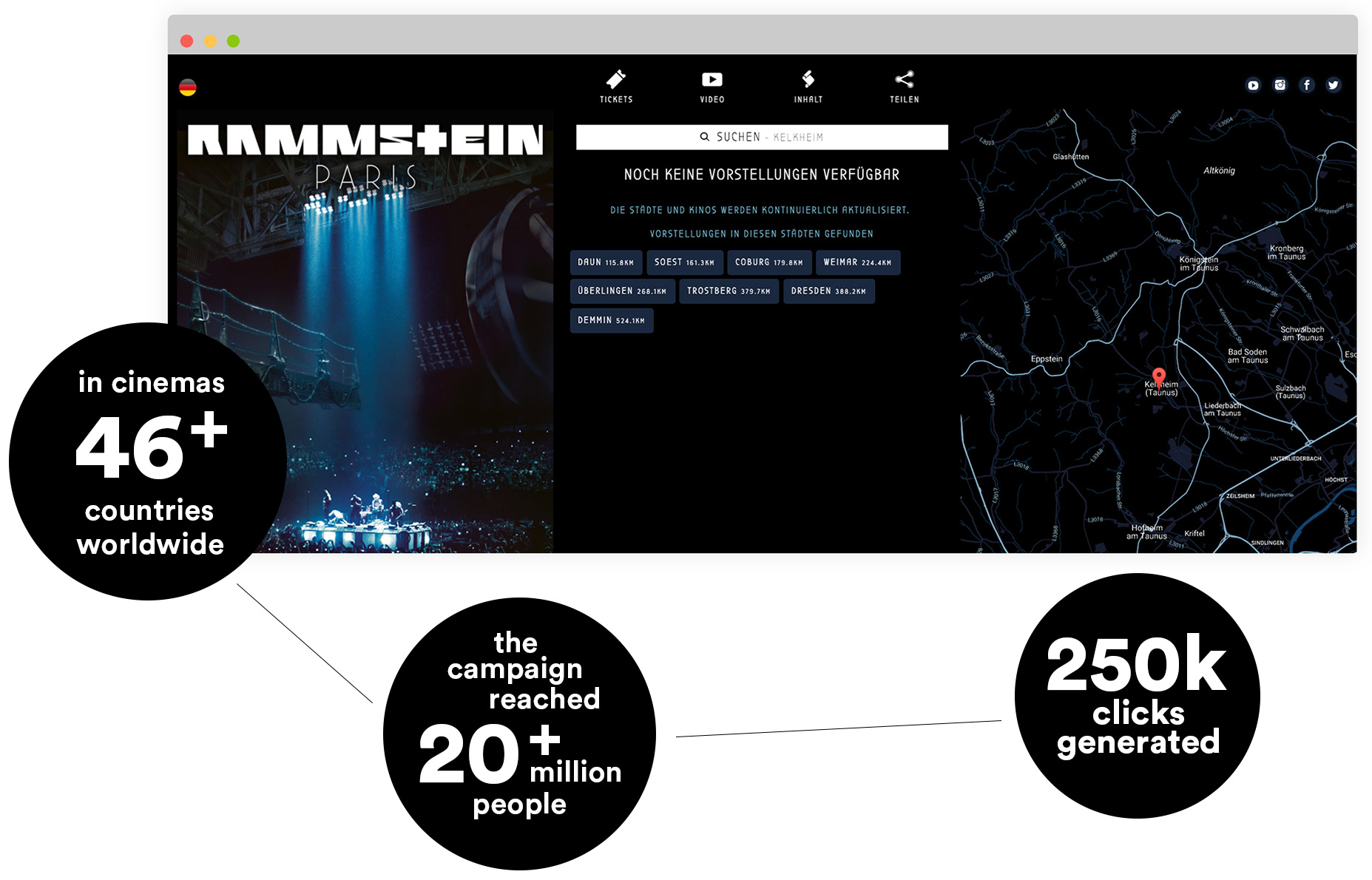 Ease Agency Online Marketing for Rammstein