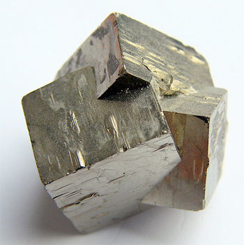 Cubic  Iron-Pyrite (fools gold) crystals