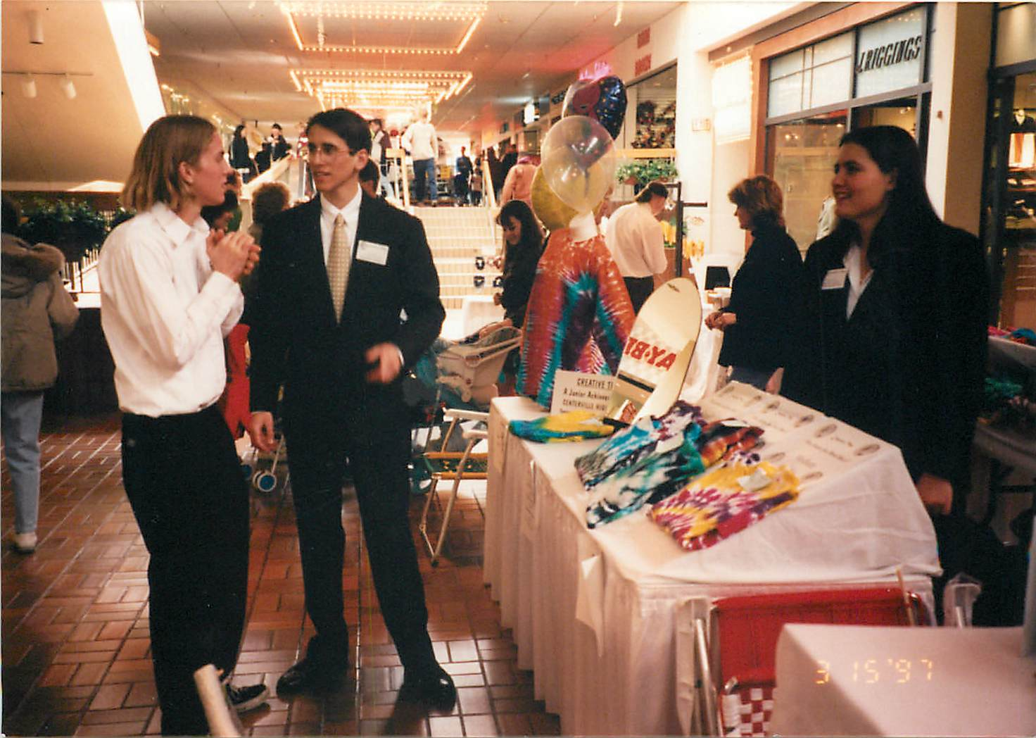 Troy was involved with a business during high school called Creative Ties.