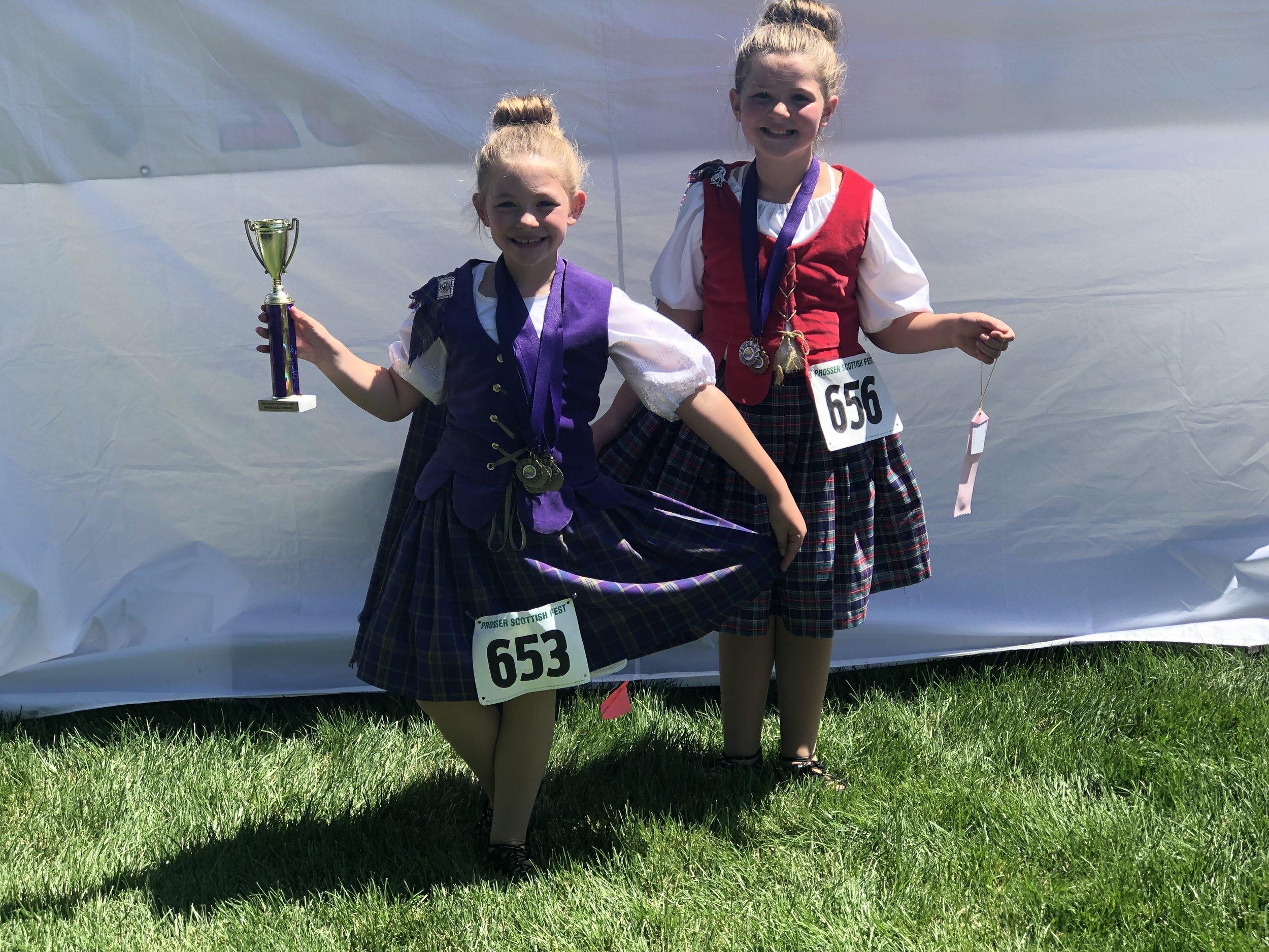 Everett Scottish Highland Dance.