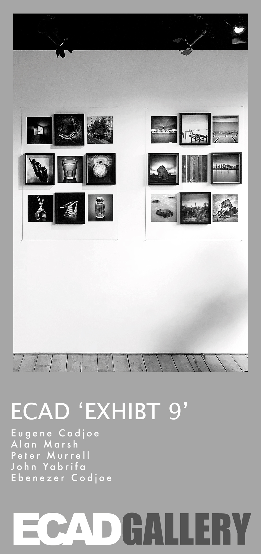 ECAD Exhibit 9 | Apr 25 - May 27 - An invitation & an opportunity to Exhibit & Sell your best 9 images in a photography gallery. Spotlight your impressive social media photography that you would consider are good enough to captivate, entertain & entice visitors to indulge with a purchase of your work.