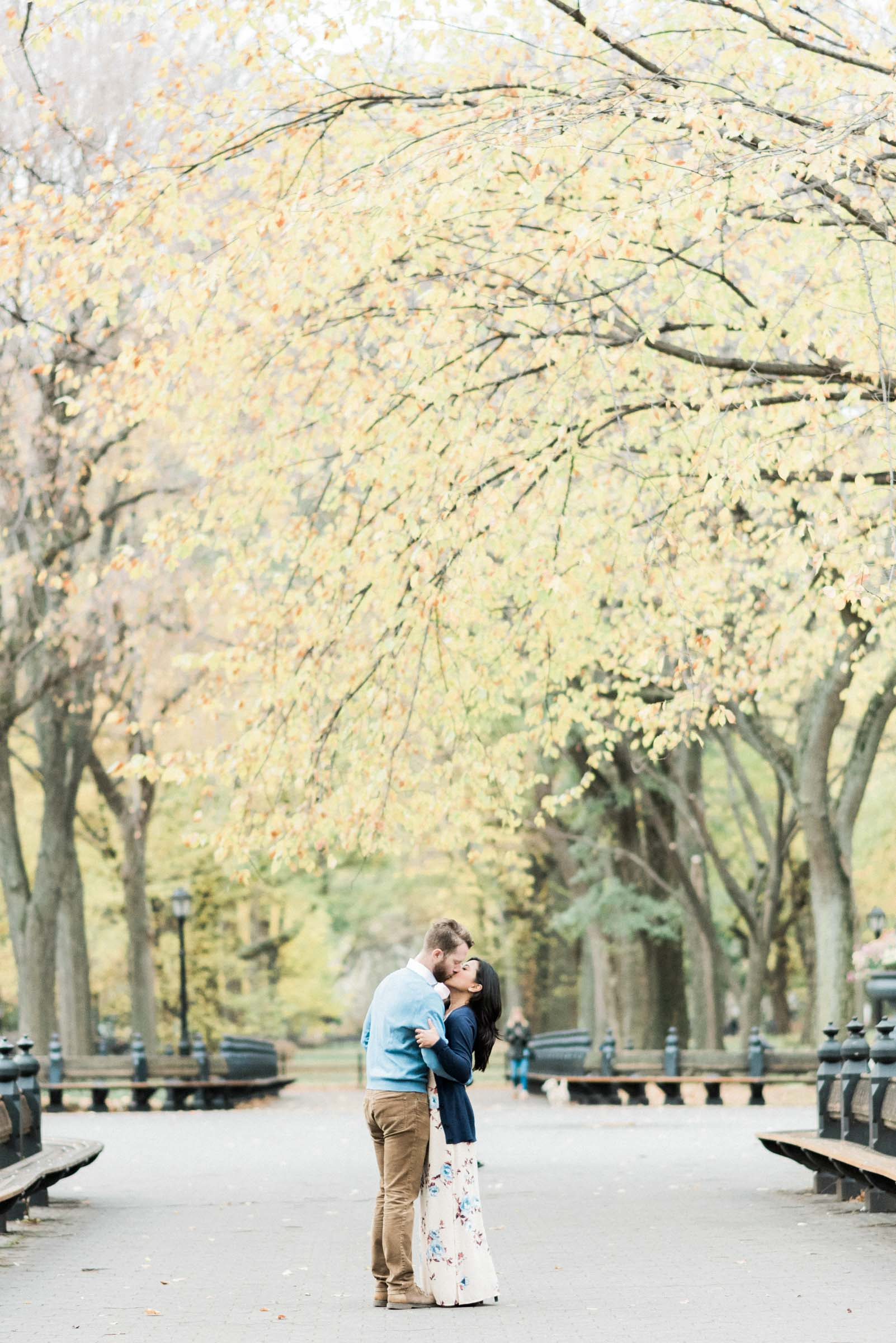 Central Park New York City Engagement Photography