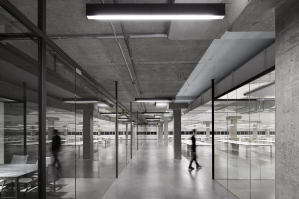 Fixtures: Sistemalux Linear Project Designer: HUMA Design