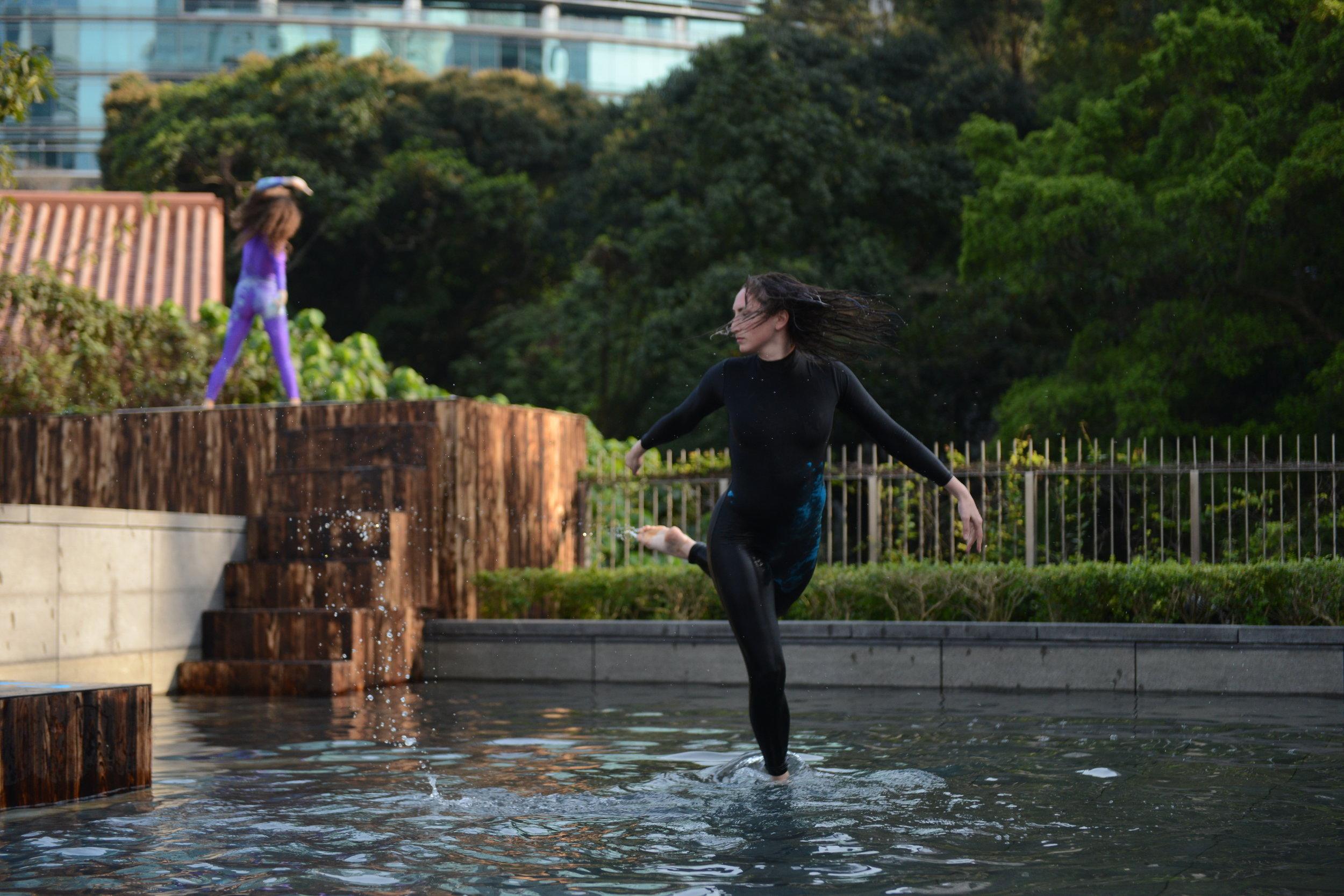 Dance Strokes   Art Basel 2016  Photo courtesy Asia Society Hong Kong Center