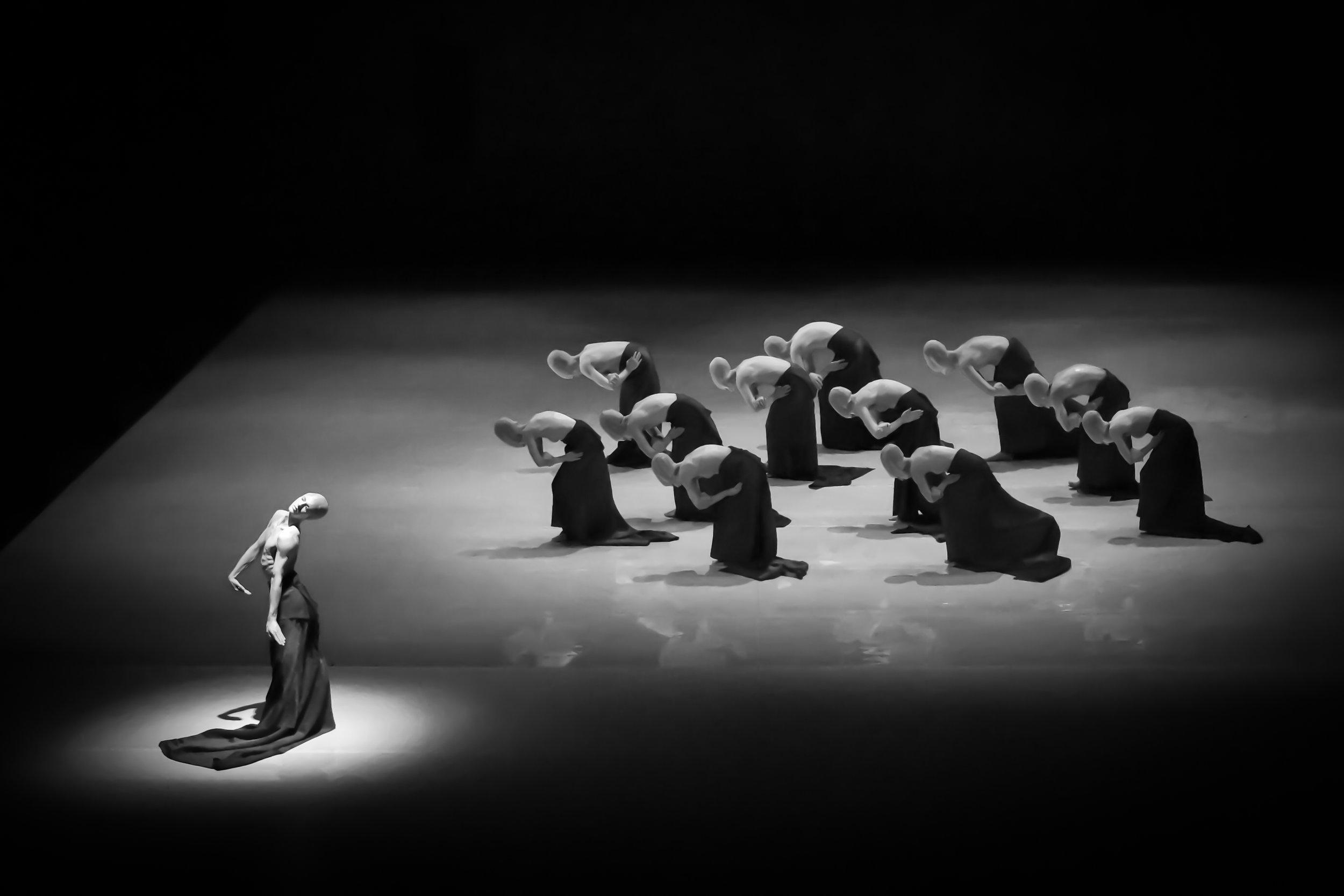 Folding   The Stanislavski and Nemirovich-Danchenko Moscow Academic Music Theatre  Moscow  Photo by Evgeniya Pirshina