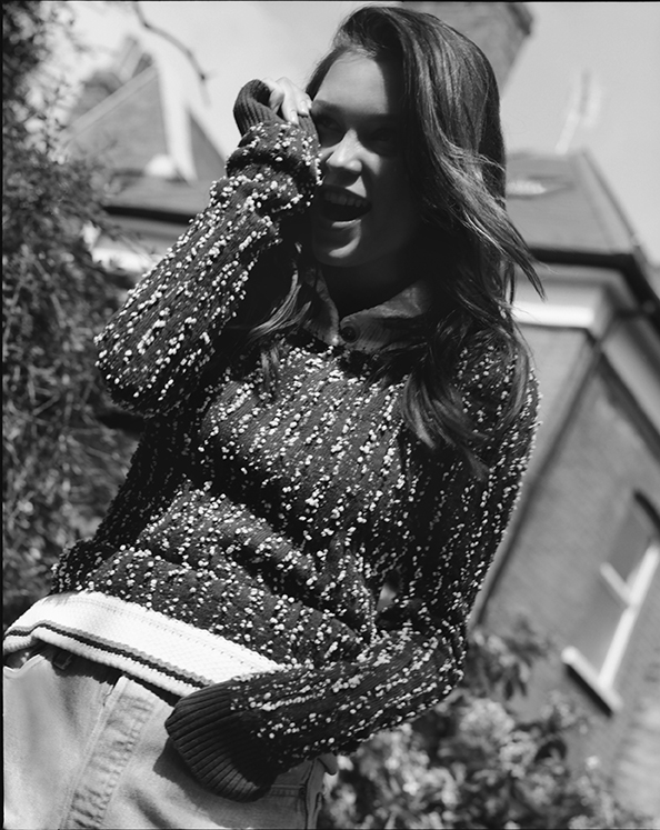 sweater:   CHANEL  ; vintage   courtesy of Modes & More London