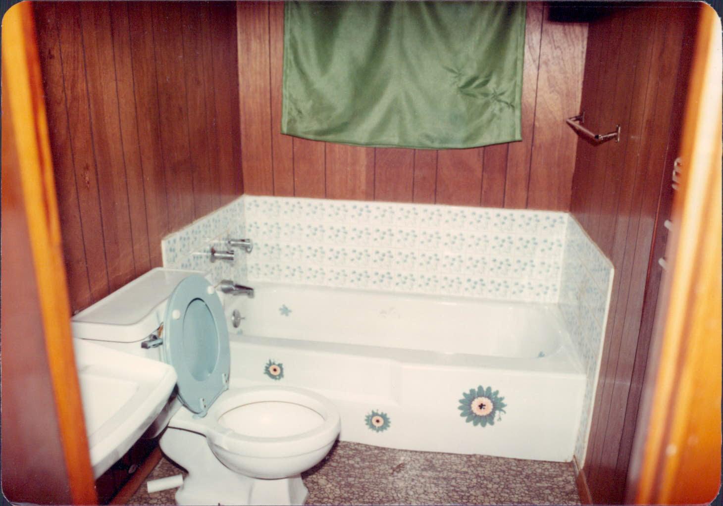 Bathroom in the duplex at 2956 Byron Street