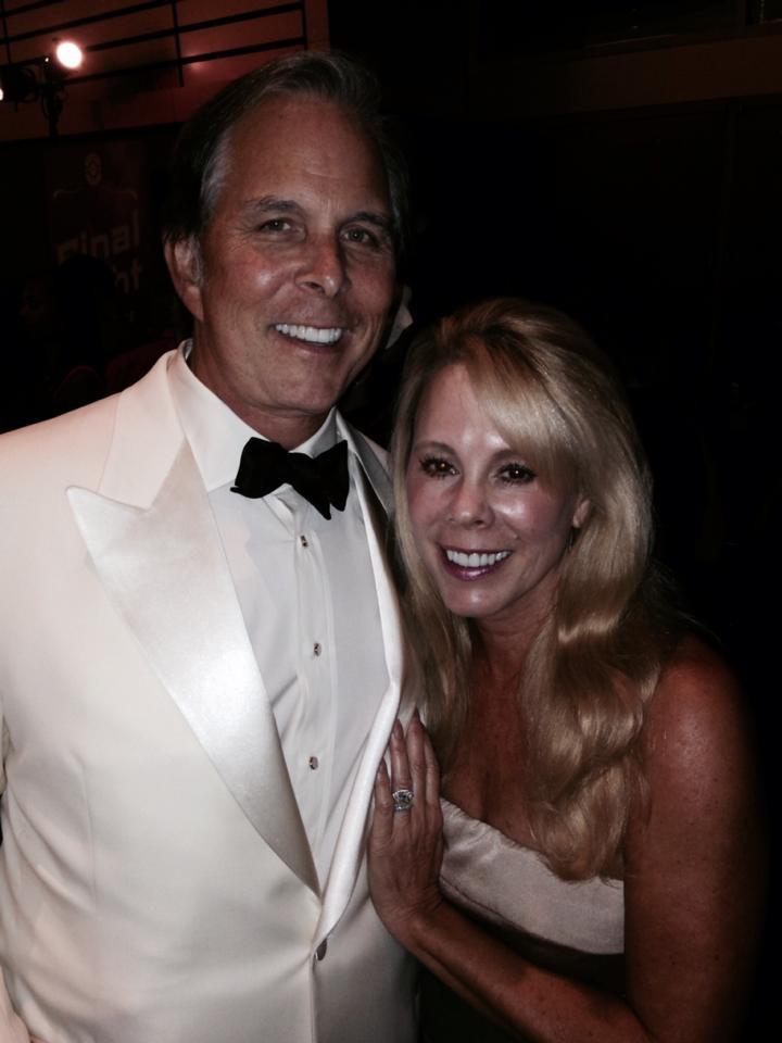 Ted Kergan with his wife, Ann Kergan