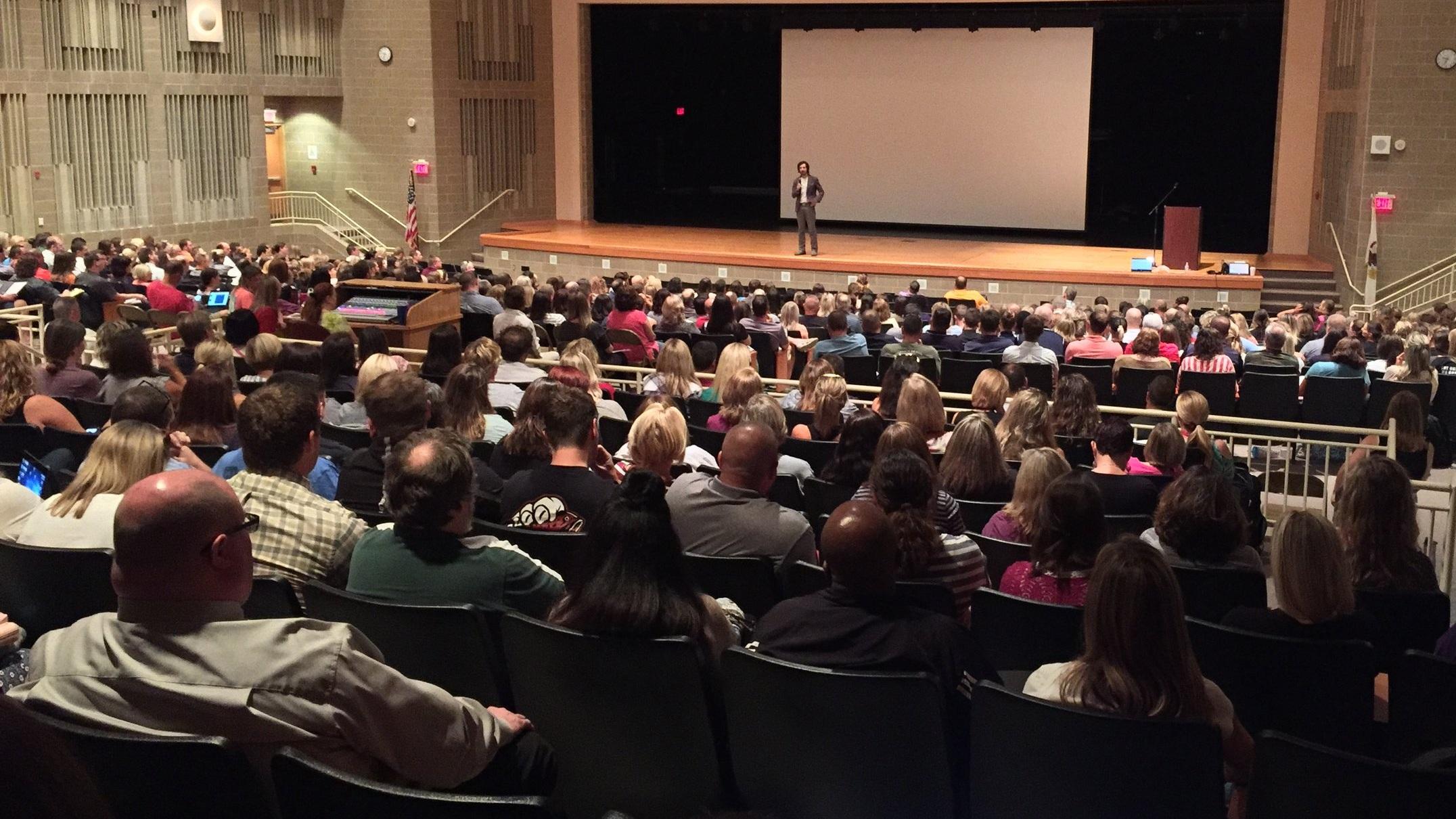Plainfield North HS Auditorium