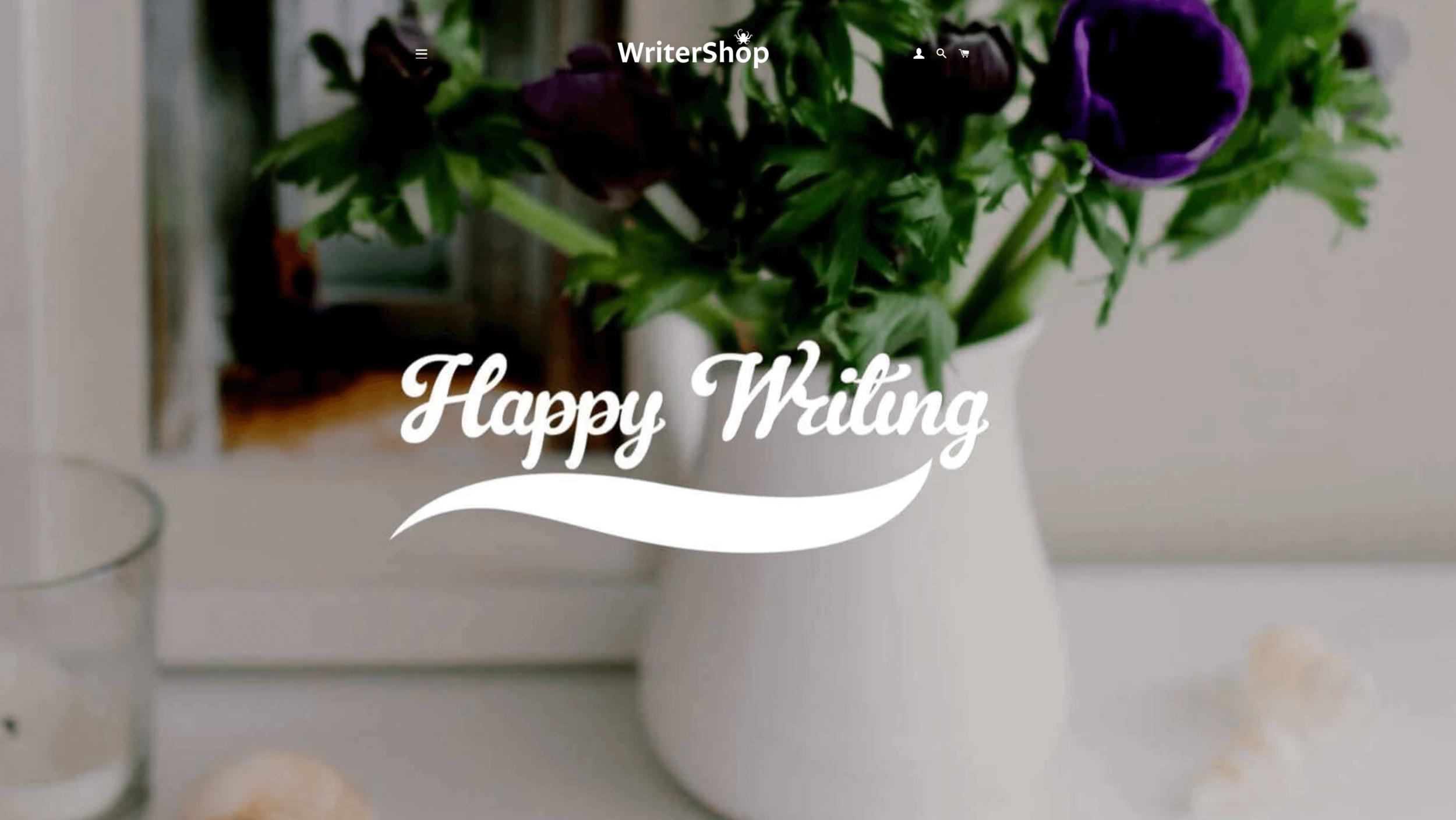 Pop in to Writershop.co.uk