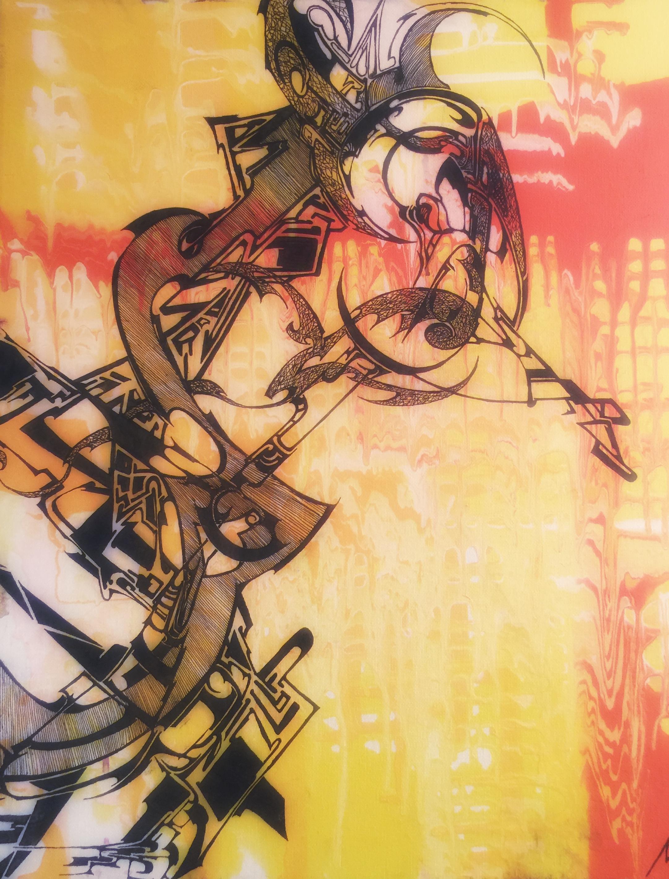 """La Mujer De Citron""  In the private collection of Valient & Lillie R. Cuiellette."