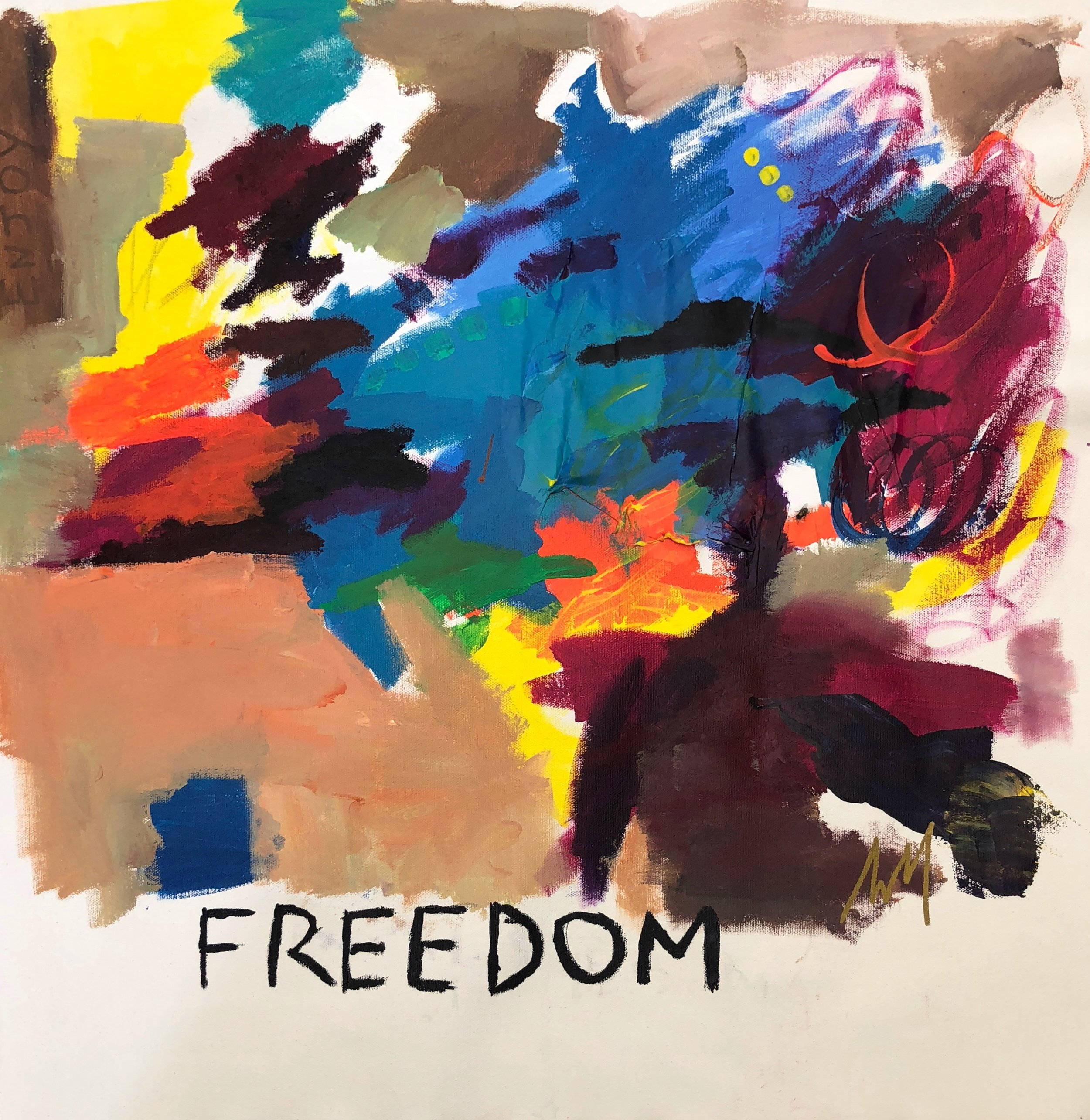"Freedom - ""Freedom""represents how AVM feels when she visits New Orleans—freedom to express herself, free to me her authentic self. New Orleans is a place where everyone is accepted for being who they are and they have the freedom to be it."
