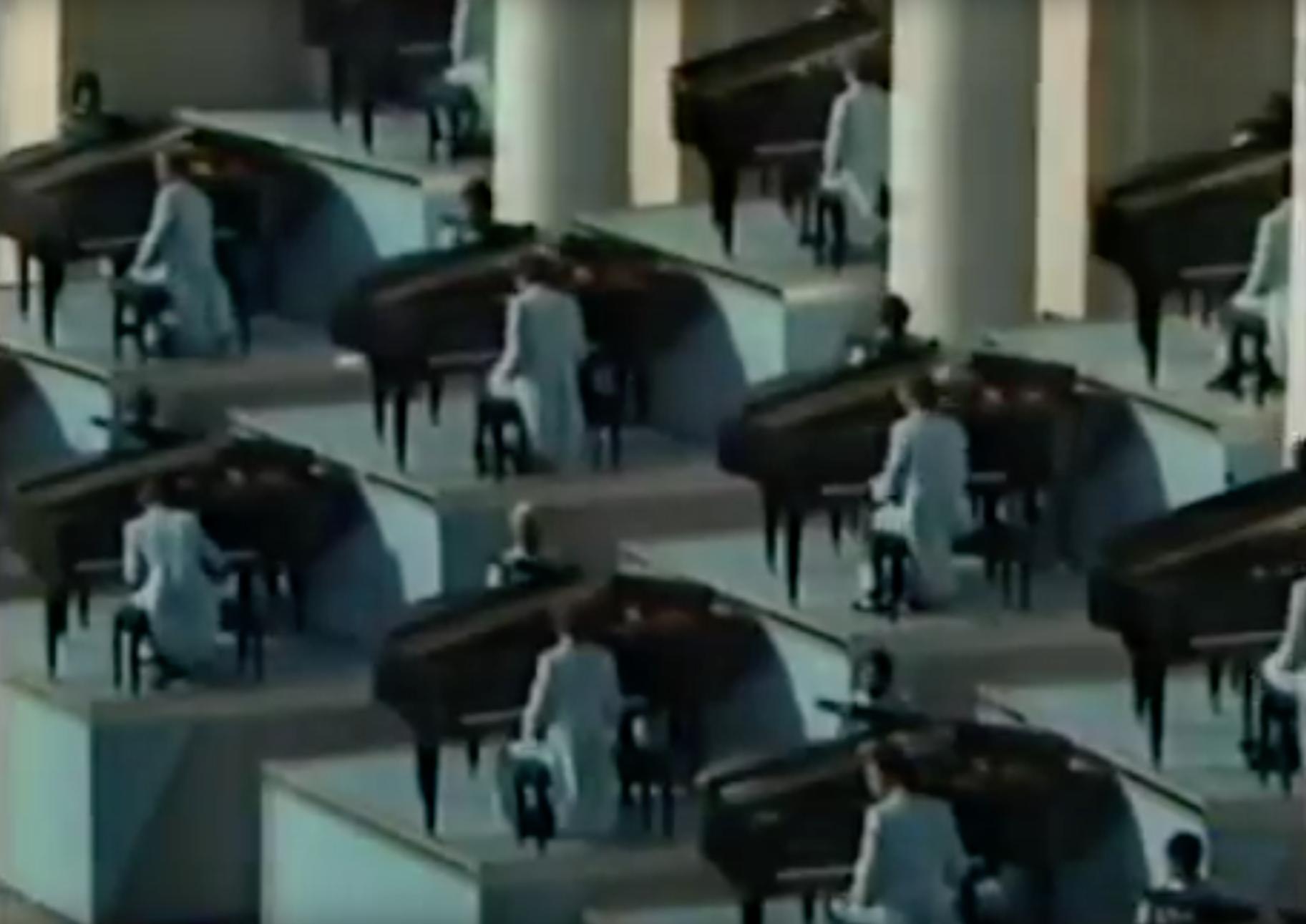 """""""Rhapsody in Blue,"""" 1984 Los Angeles Olympics"""