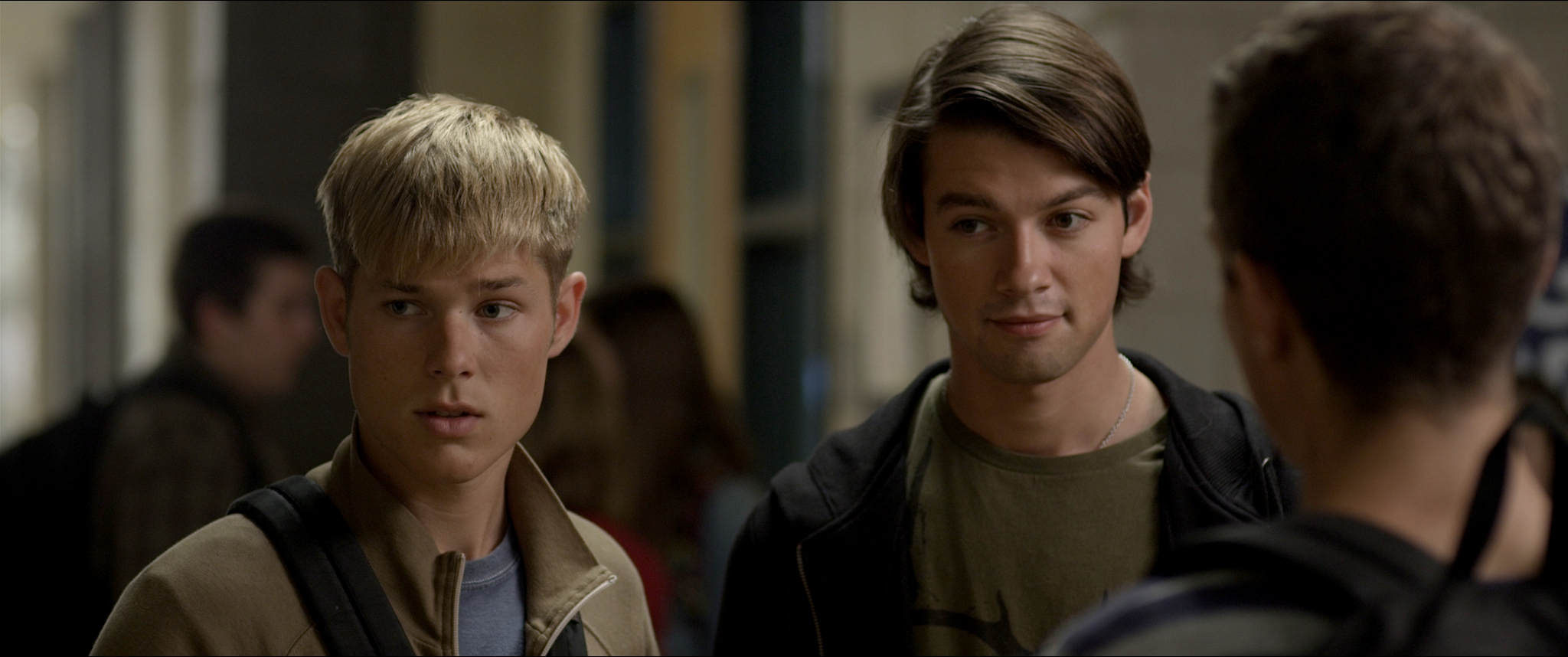 Mason Dye (left) and Ryan Munzert (right) deliver powerful performances in  Natural Selection .