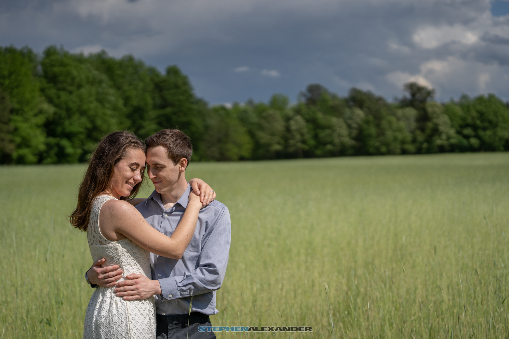 wedding photography at Raven Rock State Park