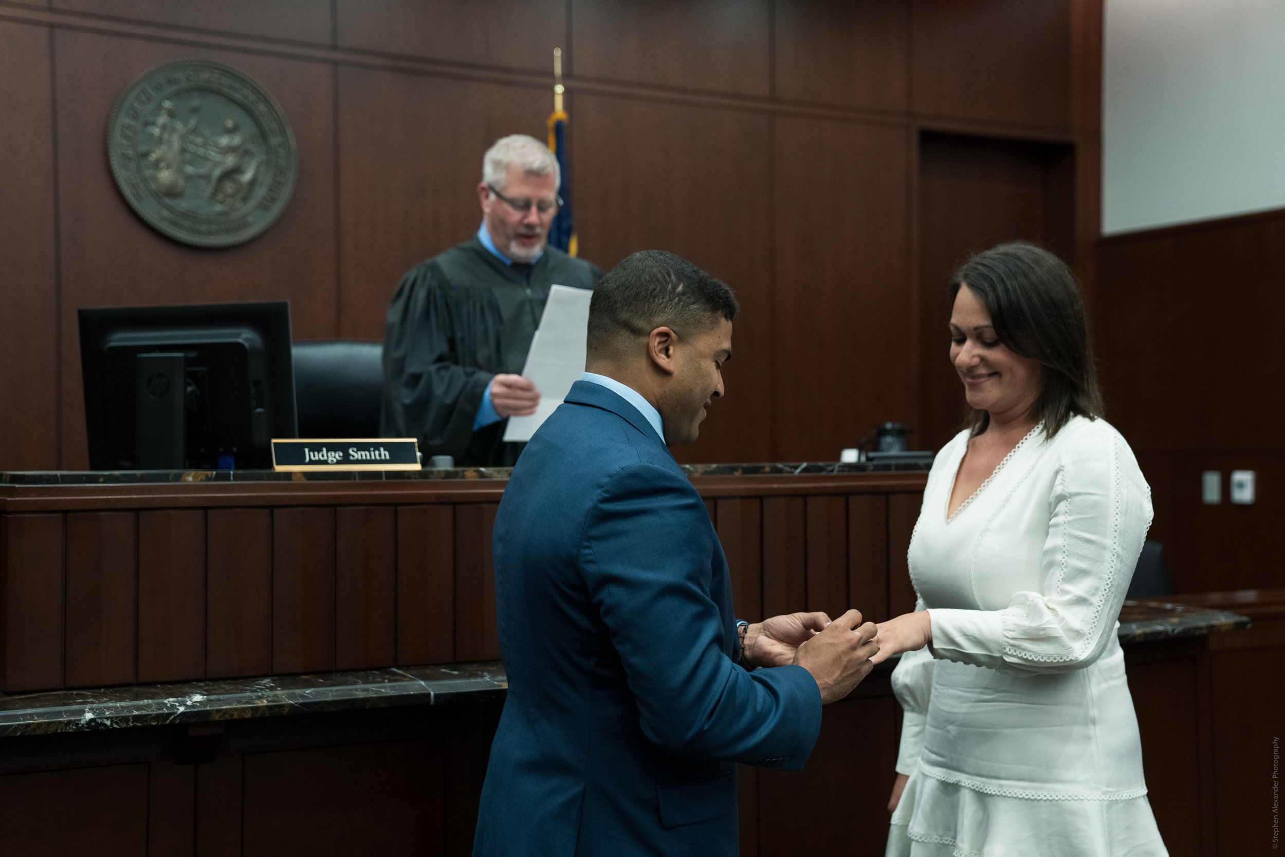 Raleigh Courthouse wedding - Elopement