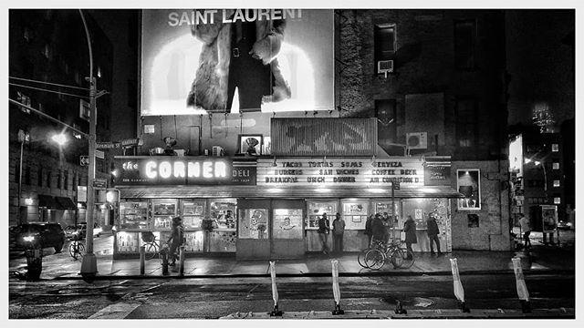 La Esquina #TheCornerDeli #nyc #saintlaurent #monkeyontheroof #allenhirsch