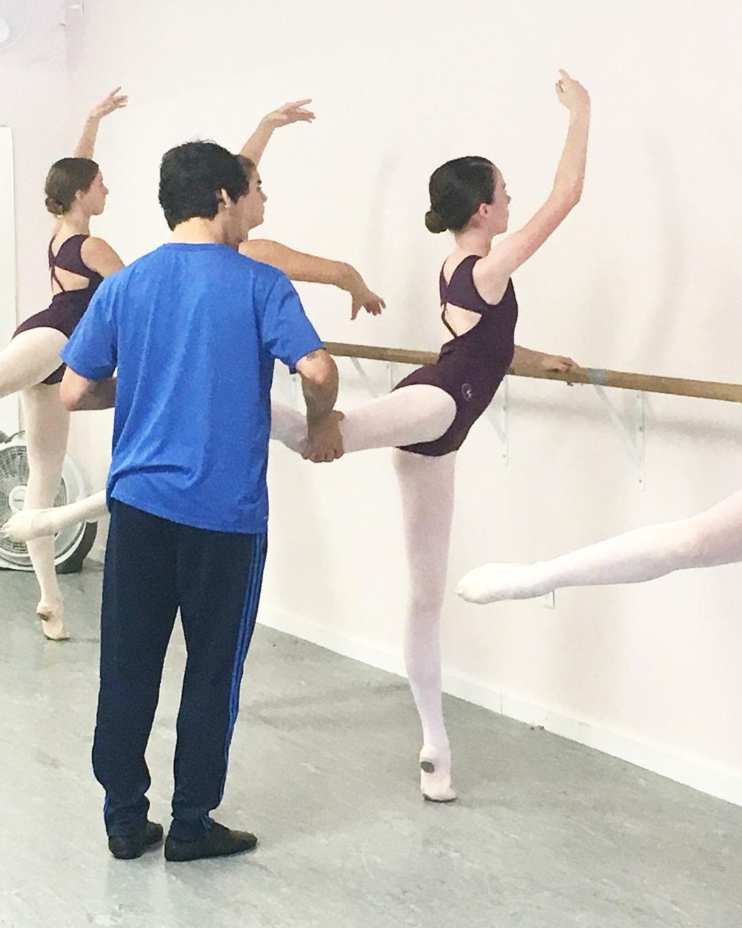 Ballet Coaching - Derrick Ballet Conservatory