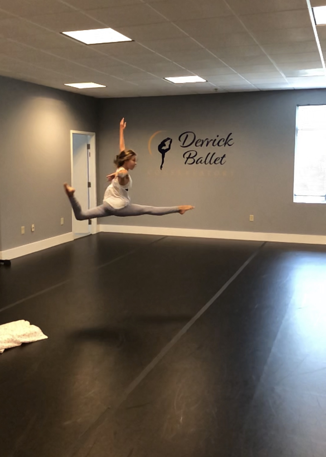 Choreographing - Derrick Ballet Conservatory