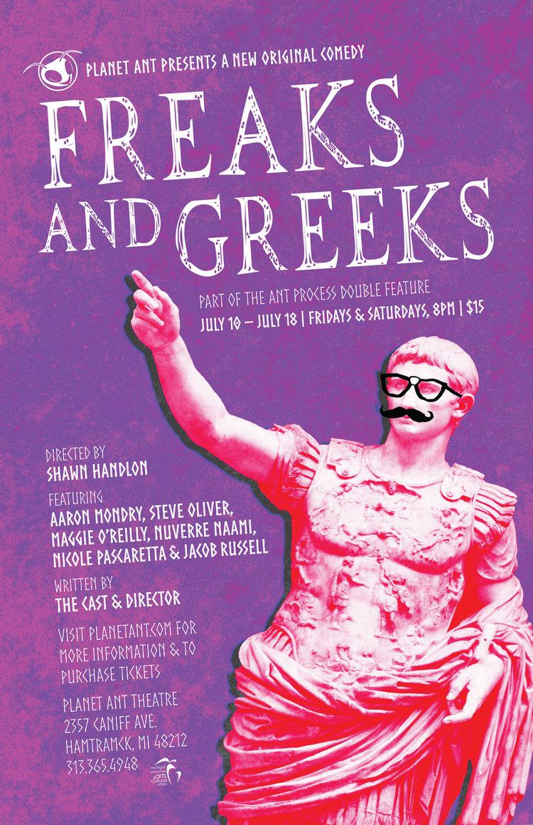 Freaks & Greeks Poster