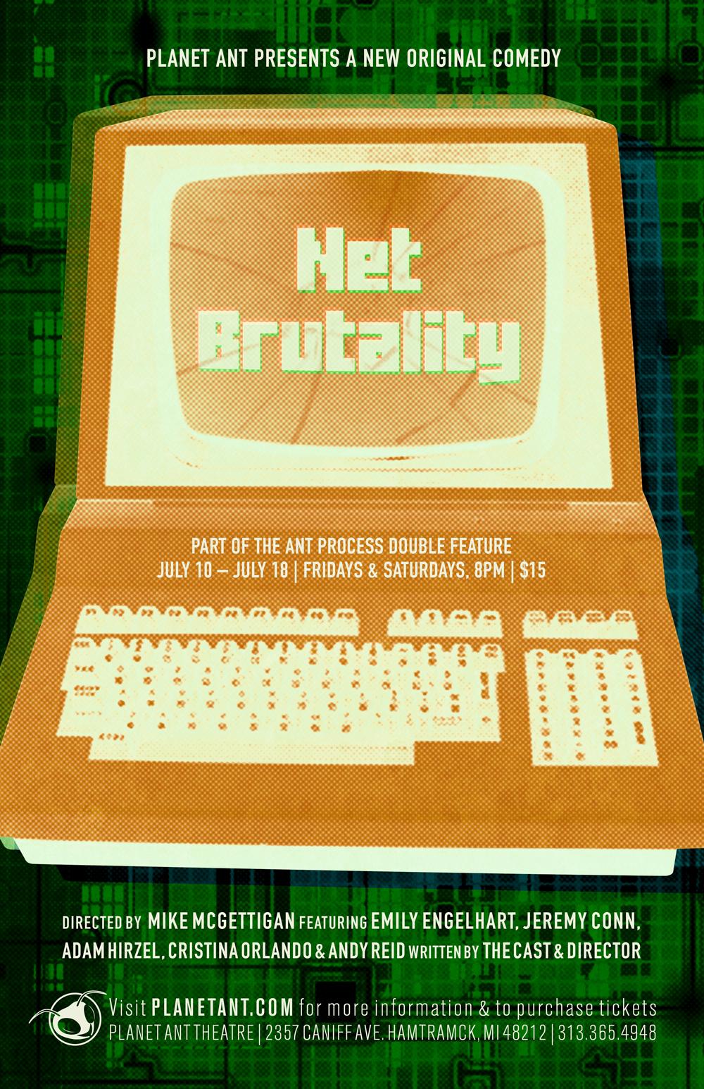 Net Brutality Poster
