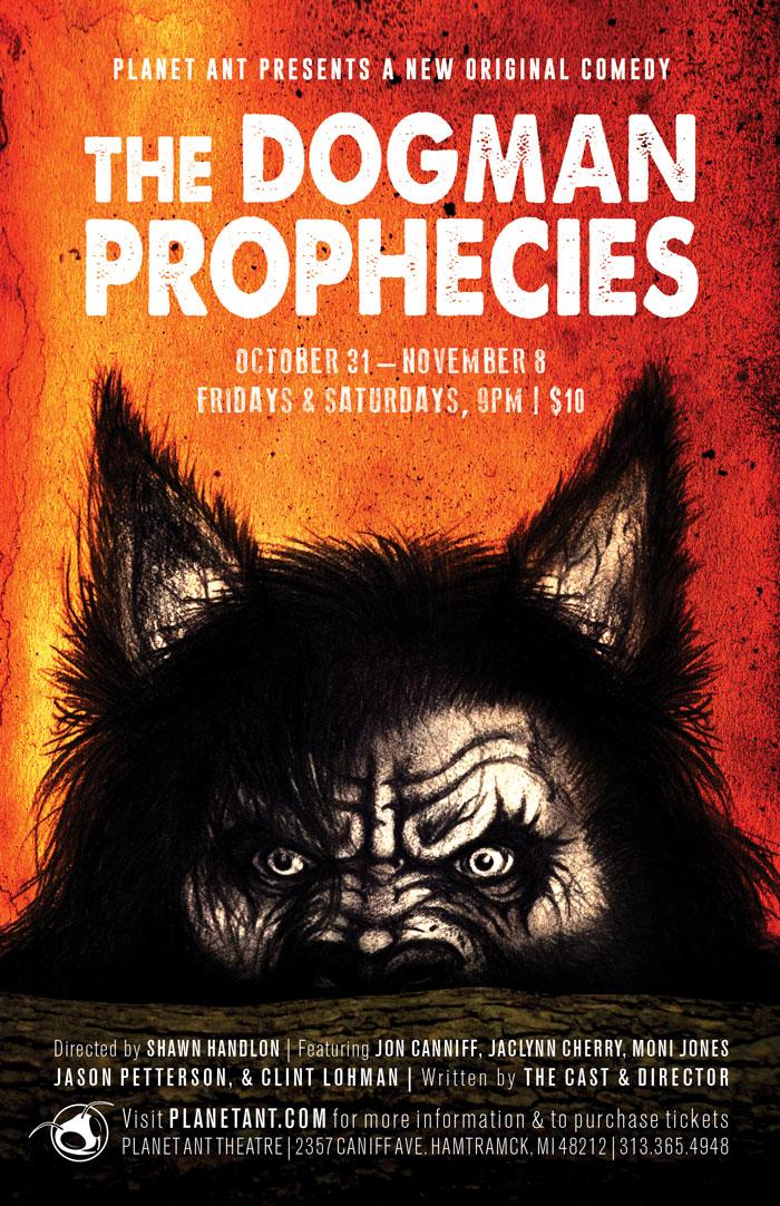 The Dogman Prophecies Poster