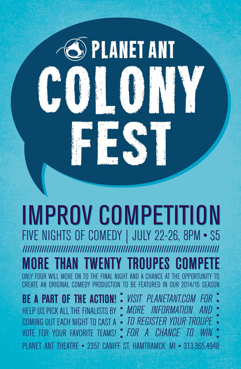 Colony Fest 2016 Poster