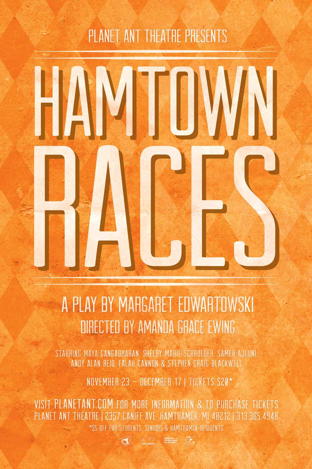 Hamtown Races Poster