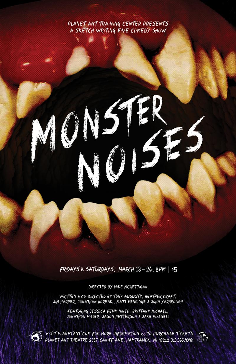 Monster Noises Poster