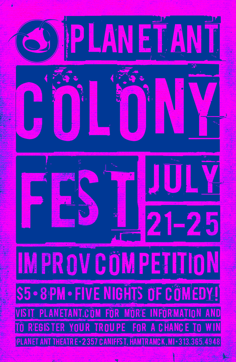 Colony Fest 2015 Poster