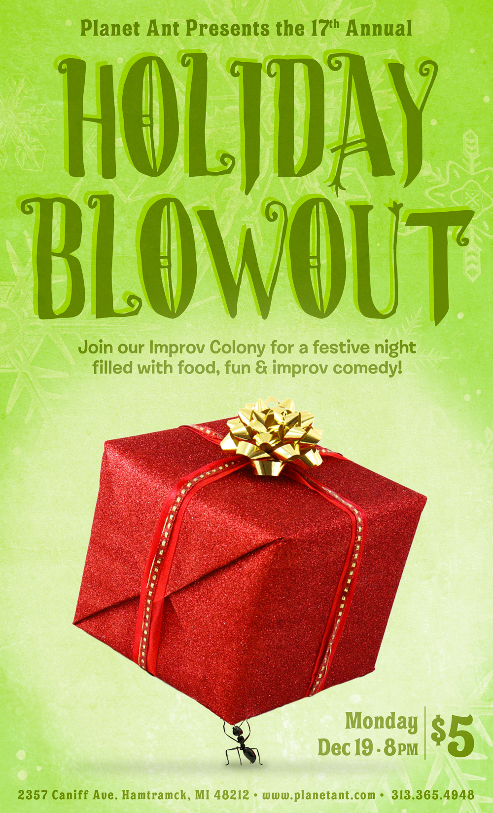 Holiday Blowout Poster