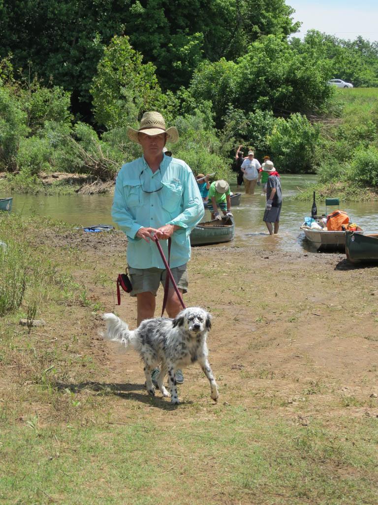 Larry & his doggie.jpg