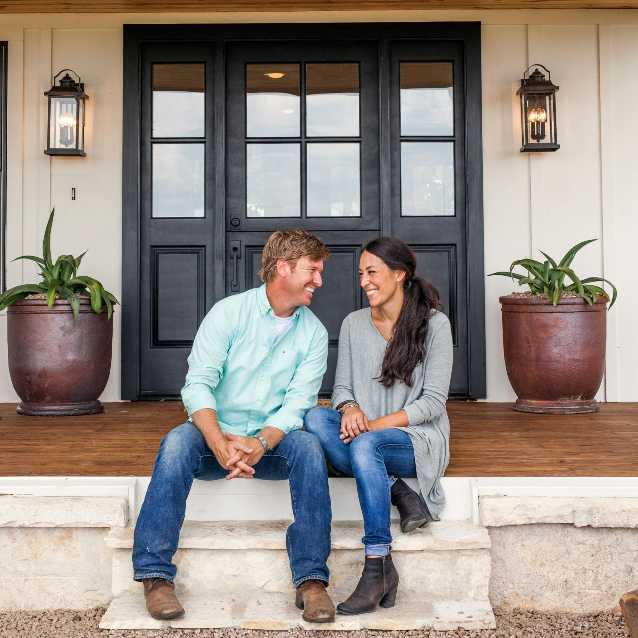Chip and Joanna Gaines, hosts of HGTV's Fixer Upper photo via HGTV