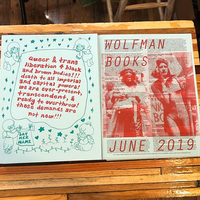 It's that time! June event calendars made by the ever-brilliant @xoc.hitl. Nearly a hundred wolfman monthly supporters get their calendar in the mail. Become a supporter today and we'll send one directly to your door every month!! wolfmanhomerepair.com/support