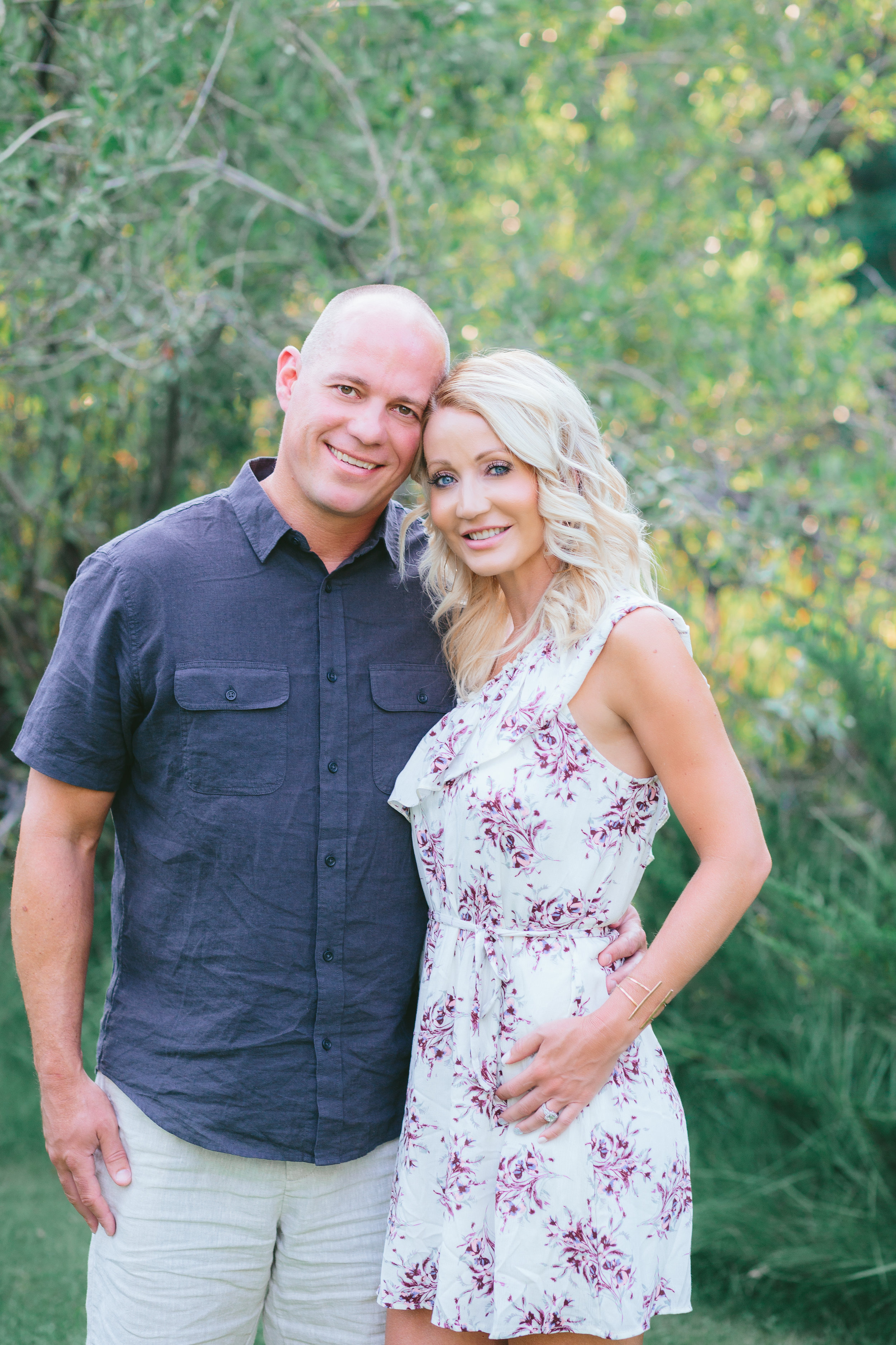 Owners, Greg and Brooke