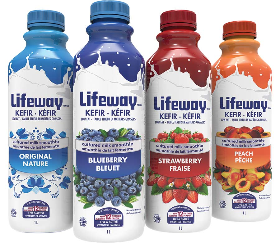 Sample of LIfeway products- photo courtesy of Lifeway website