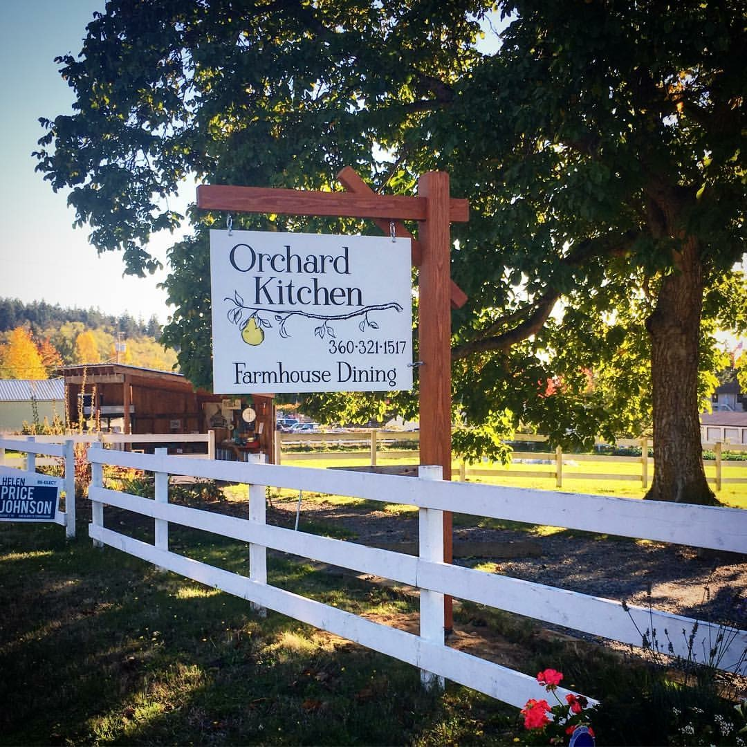Welcome to the Orchard Kitchen Entrance