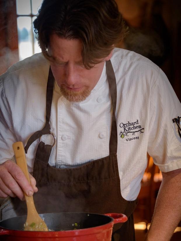 Chef Vincent Nattress