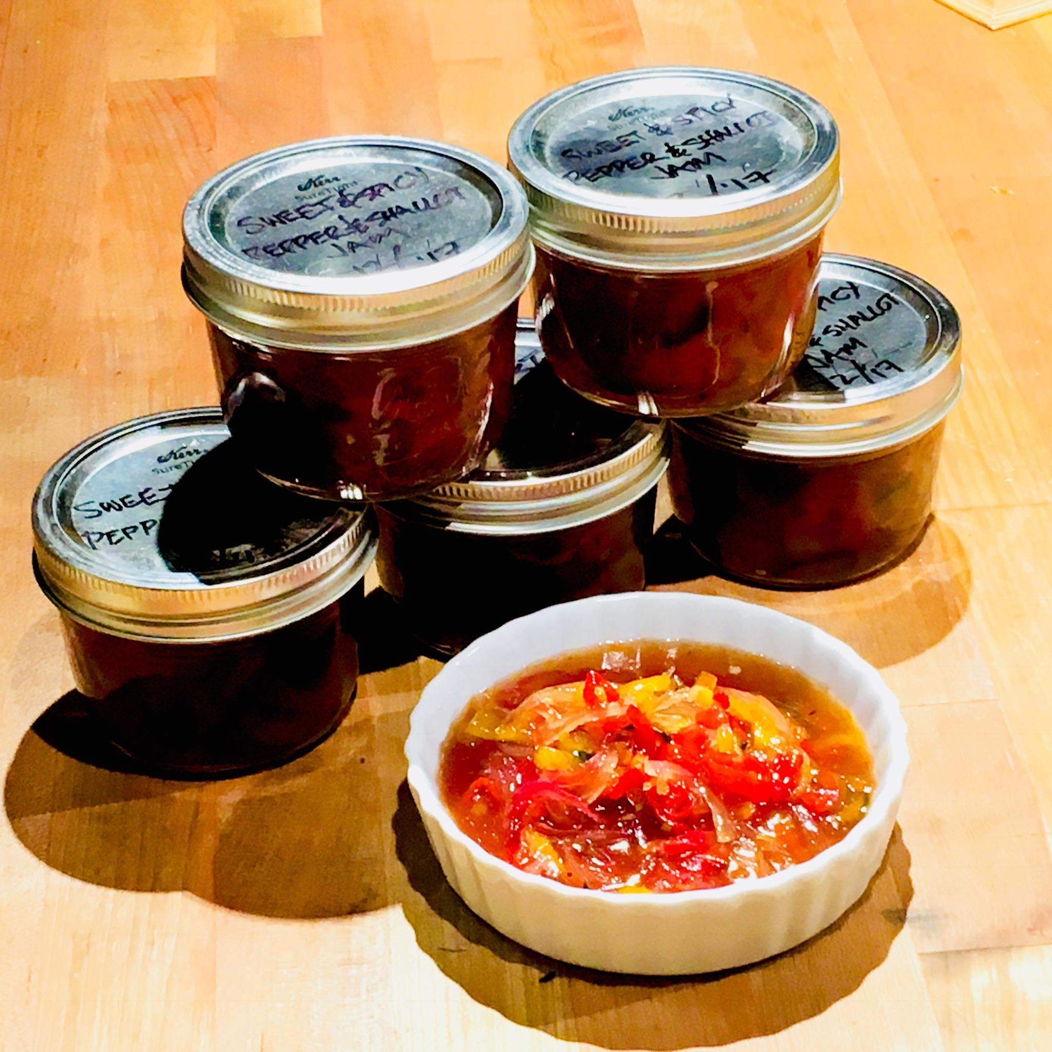 Sweet & Spicy Pepper Jam
