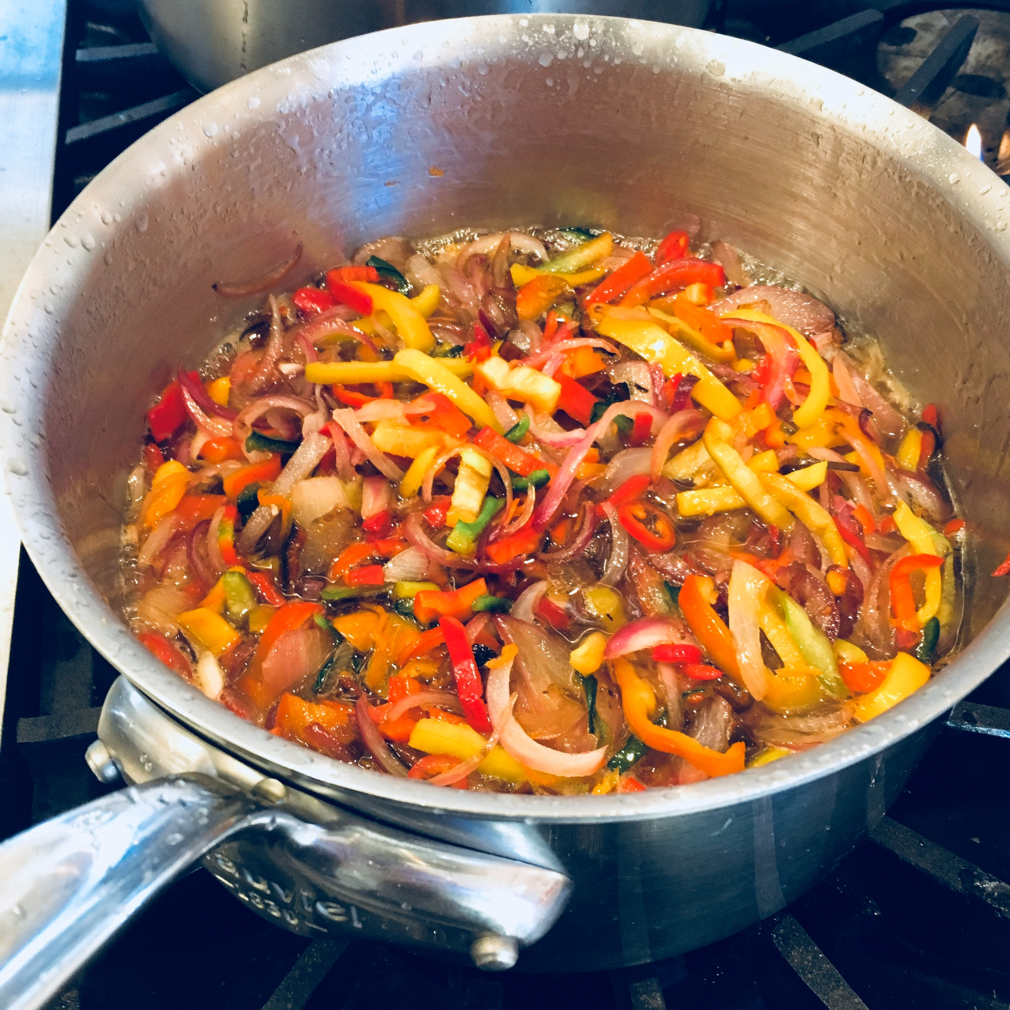 Sweet and spicy pepper jam chef vincent orchard kitchen.JPG