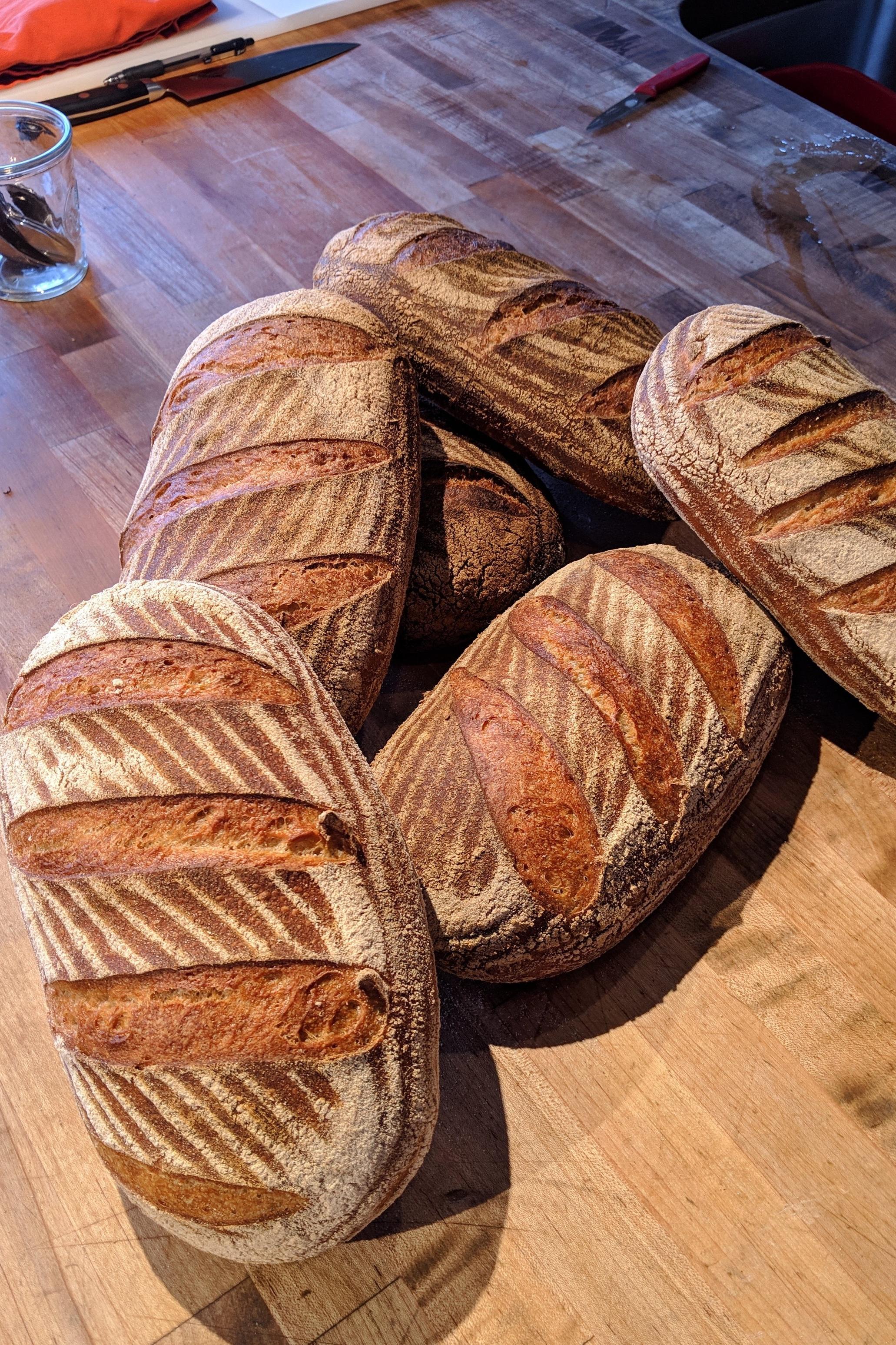 Chef+Vincent+artisan+bread+Blue+Bird+Farms