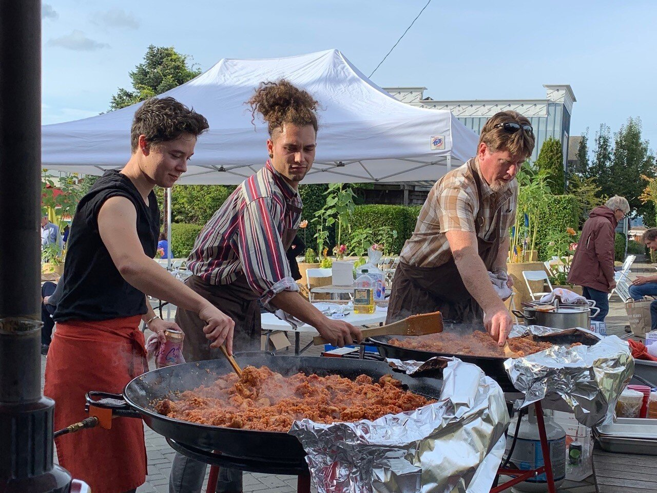 Orchard Kitchen Paella Langley Community Feast.jpg
