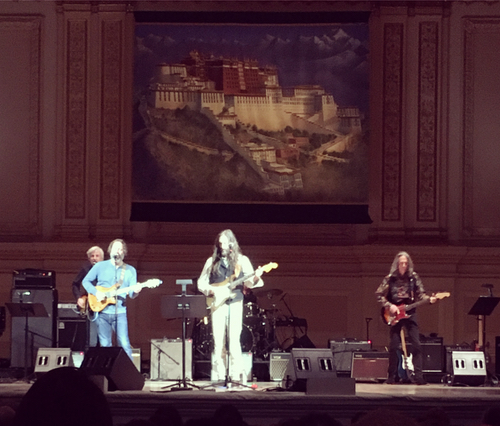 "Tibet House Concert - ""This year's concert was particularly special for me because I was able to help book rock musicians Chris Robinson and Neal Casal for the show..."""