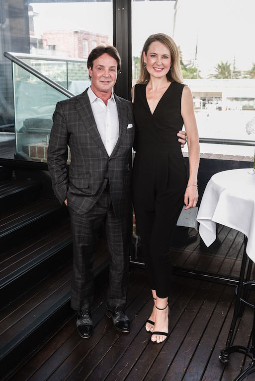 Dr Vincent Giampapa & Alison Morgan at the Jeunesse Global Media Launch Event
