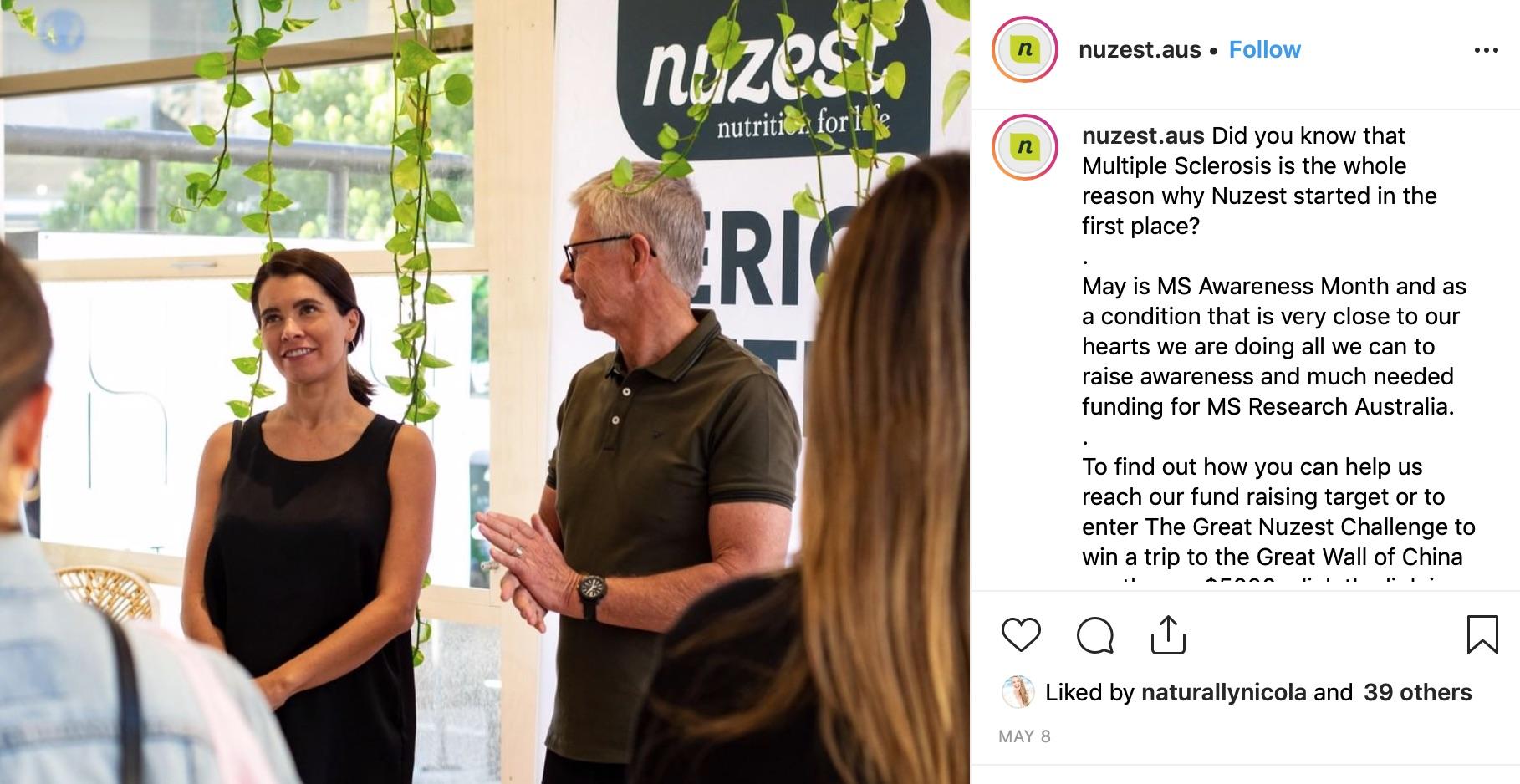 Nuzest co-founder Monique Bolland talks business